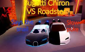 Bugatti chiron vs the world's greatest hypercars. Roblox Jailbreak Bugatti Chiron Vs Roadster Youtube Cute766