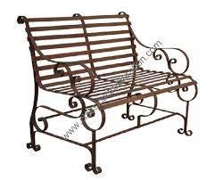 wrought iron garden bench in rajkot gujarat