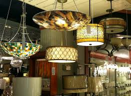image of colorful chandelier lamp shades