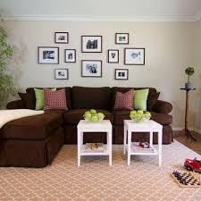 paint colors that go with brown furnitureChocolate Brown Sofa Design Ideas