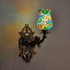 Multicolor Wall Light Home Party Decoration Multicolor Lamp Shade Wall Lamps