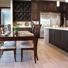 Light hardwood floors dark furniture Grey Wall Contemporary Eatin Kitchen With Dark Wood Furniture Photos Hgtv Photos Hgtv