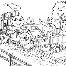 And Friends Coloring Pages Baggage For Kids Printable Free