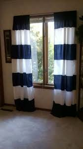 Stylish Windows Horizontalstriped Curtains Image Horizontal Striped Navy Horizontal  Striped Curtains Plus Interior Design Horizontal Striped