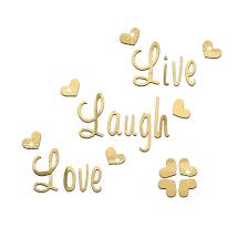 Live Love Laugh Quotes Delectable Live Love Laugh Quotes Design Ideas Of Live Love Laugh Wall Stickers