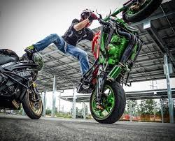 green engine stunt bike stunt bike world pinterest stunt