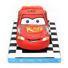 Mcqueen 3d Car Theme Cake 44lb Wishque Sri Lankas Premium