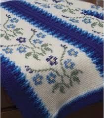 Afghan Stitch Patterns