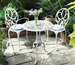 white iron patio furniture. Simple Patio Round Patio Ideas Awesome White Iron Furniture Brilliant  Table Regarding Throughout White Iron Patio Furniture