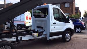 NEW SHAPE TRANSIT TIPPER TWIN WHEEL @ CHESHIRE VAN SALES - YouTube