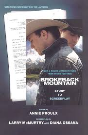brokeback mountain story to screenplay annie proulx larry  brokeback mountain story to screenplay annie proulx larry mcmurtry diana ossana 9780743294164 com books