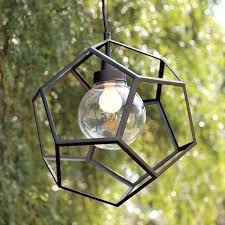 outdoor led palm tree lighting fixtures polyhedron pendant contemporary outdoor lighting outdoor palm tree light fixtures