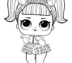 Coconut Qt Coloring Page Share With Friends Doll Lol Surprise Pages