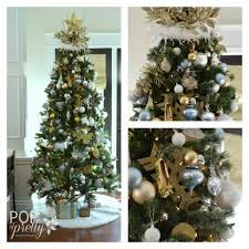 White And Gold Decor Our Gold And White Christmas Tree A Pop Of Pretty Blog Canadian