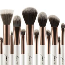 full makeup brush set. 12-piece elite brush set -no box- full makeup