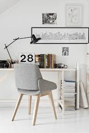 design grey chair wooden legs stylish