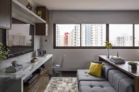 Functionally Smart Interior Design of 30 Sqm Apartment  DesignSwan.com