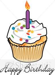 Cute Birthday Cupcake Clip Art Clipart Panda Free Clipart Images