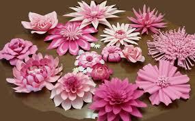 Cardstock Paper Flower Large Cardstock Paper Flowers Sheilas Shade Tree