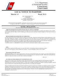 Local Notice To Mariners Week 51 Dana Point Boaters