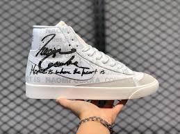 Отметок «нравится», 618 комментариев — 大坂なおみ 🇭🇹🇯🇵🇺🇸 (@naomiosaka) в instagram: Nike Blazer Mid White Pure Platinum Sail Black Da5383 100 Evesham Nj