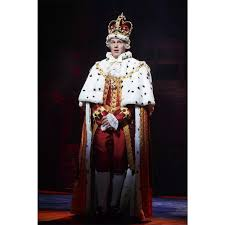 Costume Design Hamilton Us 150 41 11 Off Cosplaydiy Musical Hamilton Performance Cosplay Costume Outfit King George Washington Cosplay Costume Suit L320 In Holidays
