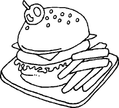 Small Picture Food Coloring Pages Printable Images Kids Aim