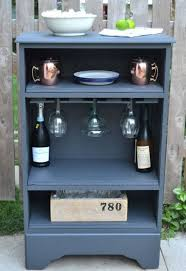 recycle curbside dresser into a bar impressive easy diy recycle projects for your home