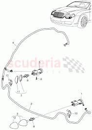 Headlight washer system f 3w 4 020 001>> 3w 8