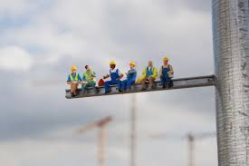little people a tiny street art project why is it so hard to why is it so hard to a job construction worker