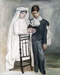 pablo picasso first communions