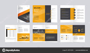 Vector Company Profile Cover Template Layout Design Cover