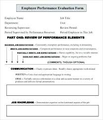 Tribute Speech Examplestraining Evaluation Form Best Employee Evaluation Form In Pdf New Employee Evaluation Form