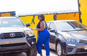 Actress Tracey Boakye Receives Brand New 4X4 As Birthday Gift From  Boyfriend [Photos] - GhPage