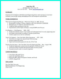 Civil Engineer Resume Format Free Download Free Resume Example