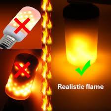 Flamp The Flickering Flame Effect Decorative Led Lamp