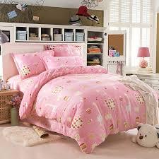 charming inspiration designer kids bedding bed design designing room nice ideas simple finishing sample pink white concrete with pattern