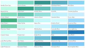 Shades Of Blue Paint Color Chart Martin Senour Paints Martin Senour Colors Martin Senour
