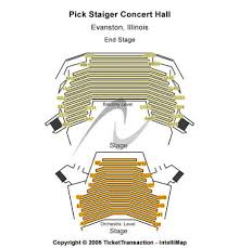 Pick Staiger Concert Hall Tickets And Pick Staiger Concert