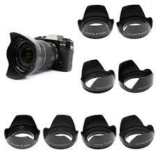 <b>JJC LS-49</b> Universal 49mm Flower Petal Lens Hood for SLR/DSLR ...