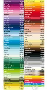 Montana Gold Artists Acrylic Spray Paint 400ml Colour Chart