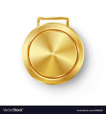 Design An Olympic Medal Template Competition Games Golden Medal Template