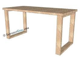 x leg office desk sawdust girl