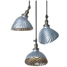 collection of large sunburst mercury glass pendants