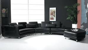 modern black leather sectional alternative views divani casa 6122c modern white and black bonded leather sectional