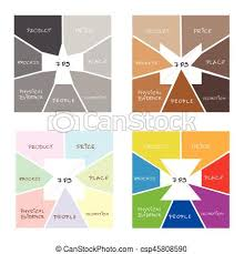 Marketing Mix Strategy Or 7ps Model In Square Chart