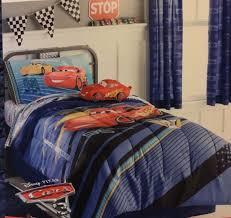 lightning mcqueen bedding full size disney pixar cars 3 comforter sheet set twin size new model