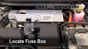 replace a fuse 2010 2015 toyota prius 2010 toyota prius 1 8l 4 cyl 2012 toyota prius fuse box diagram at 2010 Prius Fuse Box Diagram