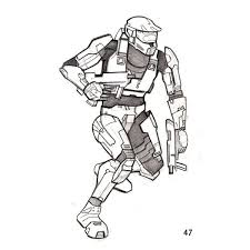 Small Picture Where to Get Halo 3 Coloring Pages