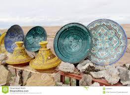 Small Decorative Plates Small Decorative Plates And Tajin Stock Photo Image 62866087